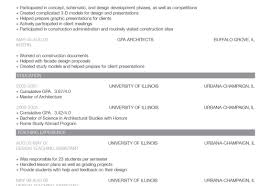 resume architectural resume illustrious architectural resume