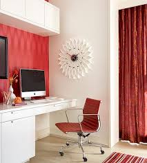 view in gallery fancy home office flowers a white and red environment arrangements75 office