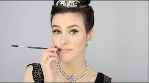 audrey hepburn breakfast at tiffany s inspired makeup tutorial