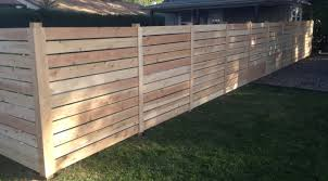 wood privacy fences. Horizontal Wood Privacy Fence Fences