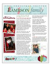 Holiday Newsletter Template Holiday Newsletter Cityesporaco 11