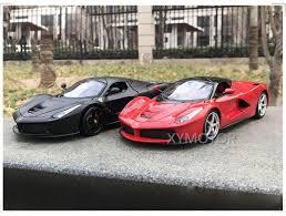 The laferrari's architecture represents the pinnacle of innovation even by ferrari's legendary standards. Bburago Refined 1 18 Ferrari Laferrari F70 Diecast Racing Car Model Red Black Ebay