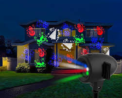 halloween outdoor lighting. Halloween Outdoor Lighting. Startastic Holiday \\u0026 Christmas Movie Slide Projector 12 Modes Lighting T