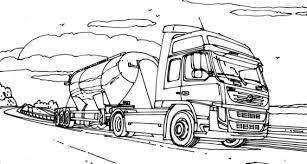 Kleurplaten Vrachtwagens Volvo Google Zoeken Knutselenkids