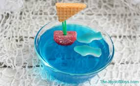 shark week food and drink ideas a cup