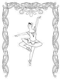 Free Printable Ballerina Coloring Pages Free Printable