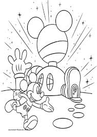 Small Picture Mickey Mouse Clubhouse Coloring Pages Gallery Of Art Mickey Mouse
