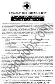 Project Accountant Tayoa Employment Portal