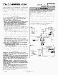 chamberlain 1 2 hp garage door opener manual 3740