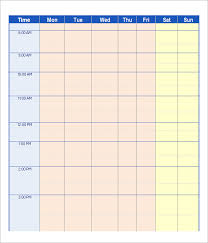 Schedule Maker Work Work Schedule Template 20 Download Free Documents In Pdf Word Excel