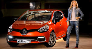 New Renault Clio RS Reviewed by a Sexy Car-loving Russian Blonde ...