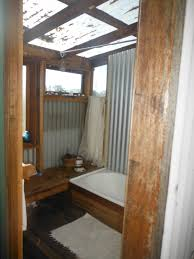 Corrugated Metal Interior Design Appalachian State Bathroom By Dept Of Energy Solar Decathlon Via