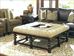 upholstered coffee table with shelf marvelous oversized cocktail ottoman extra large footstool coffee table large size