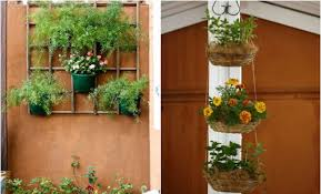 Small Picture 2 space saving DIY vertical garden ideas for small balcony