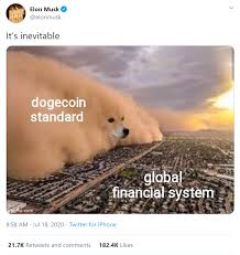Find all related cryptocurrency info and read about dogecoin's latest news. Elon Musk Sees Dogecoin Standard Future Doge Price Rises 14