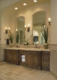 beautiful bathroom lighting. Bathroom Lighting Tiled Floors Simple Vanity With Open Towel Pantry Beautiful S