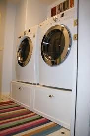 diy washer dryer pedestal with drawers. Contemporary Pedestal Washer U0026 Dryer Pedestal  Platform With Drawers  Do It Yourself Home  Projects From Ana White New Project Bedroom Ideas Pinterest White  To Diy With
