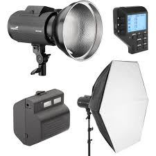 impact venture ttl 600 battery powered monolight kit with canon controller