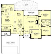 ranch style one story house plans inspirational traditional style house plan 4 beds 2 00 baths