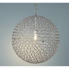 home and furniture beautiful sphere light fixtures in metal orb chandelier world market sphere light