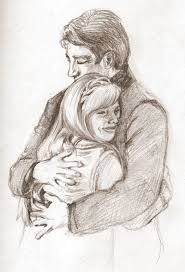 Father And Daughter Drawing at GetDrawings   Free download
