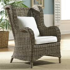 Papasan Chair In Living Room Rattan Wicker Accent Chairs Youll Love Wayfair