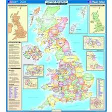 series maps ordnance survey united kingdom wall map series