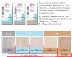 Color Charm Hair Color Chart Wella Toner Colors Google Search Wella Hair Toner Hair