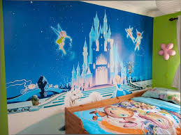 disney wallpaper for bedrooms. wallpaper mural disney cinderella style princess castle for bedrooms -