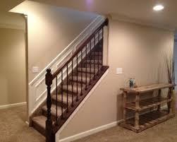 Basement Stair Railing Ideas