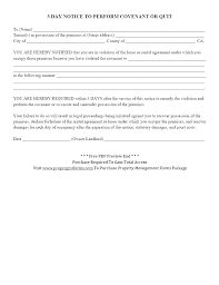 3 Days Pay Or Quit Form 3 Day Eviction Notice New Form Template State Of Cali