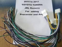 2014 to 2017 toyota tundra jbl wiring harness toyota tundra wiring harness stereo Toyota Tundra Wiring Harness #39
