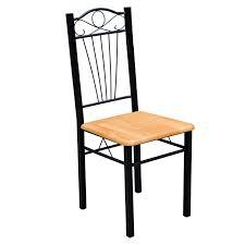 Articoli per set 4 sedie e tavolo cucina e pranzo legno e acciaio