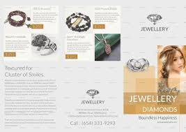 tri fold brochures jewellery tri fold brochure design template in psd publisher word