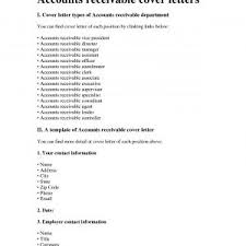 Sample Resume For Accounts Receivable Supervisor Refrence Accounts ...