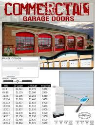 commercial garage doorsCommercial Garage Doors Installation  Veteran Garage Door