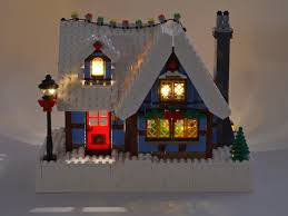 lego lighting. Adding Lights To The LEGO® Winter Village Cottage (Set #10229) - Brickstuff Lego Lighting L