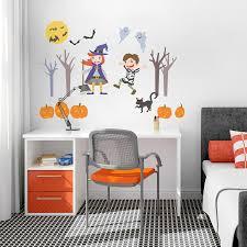 halloween gallery wall decor hallowen walljpg full size of decoration halloween wall decal for kids room removable vinyl art wall sticker