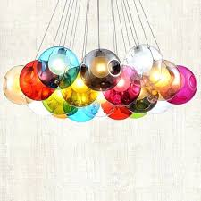 colorful chandelier lighting. Beautiful Chandelier Colorful Chandelier Wired Globe Glass Multi Lights Pendant Ceiling Lighting  Plastic Colored Crystals  Newly Modern Lamps  Throughout Colorful Chandelier Lighting
