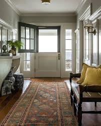mudroom rug with damp wet listed wall sconces entry beach style and dutch door hall rugs