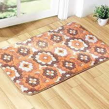 mats rugs 1pc country bath rugs polyester contemporary bathroom easy to clean