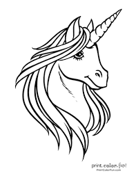 Discover these unicorns coloring pages. Top 100 Magical Unicorn Coloring Pages The Ultimate Free Printable Collection Print Color Fun