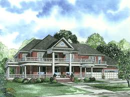 luxurious farmhouse plans luxury southern plantation home with wrap around porch and upper balcony