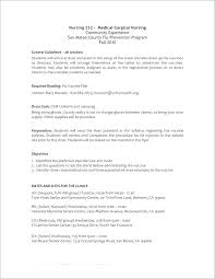 Nurse Resume Format Resume Format For Nurses Abroad New New ...