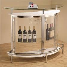 corner bars furniture.  furniture coaster contemporary home bar unit with clear acrylic front in white throughout corner bars furniture