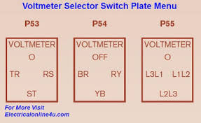 rotary switch connection diagram rotary image voltmeter selector switch wiring diagram for three phase on rotary switch connection diagram
