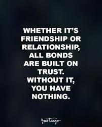 Important Quotes Best 48 Trust Quotes That Prove It's Important In Relationships YourTango