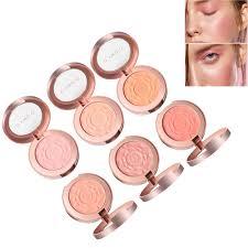 11 6 colors rose makeup face blush brighten fine powder