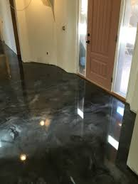 Epoxy Kitchen Floors Decorative Concrete Epoxy Floor Silver And Pearl Creative Epoxy