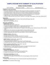 Relevant Experience Resume Custom Relevant Experience Resume Examples Fast Lunchrock Co Simple Image